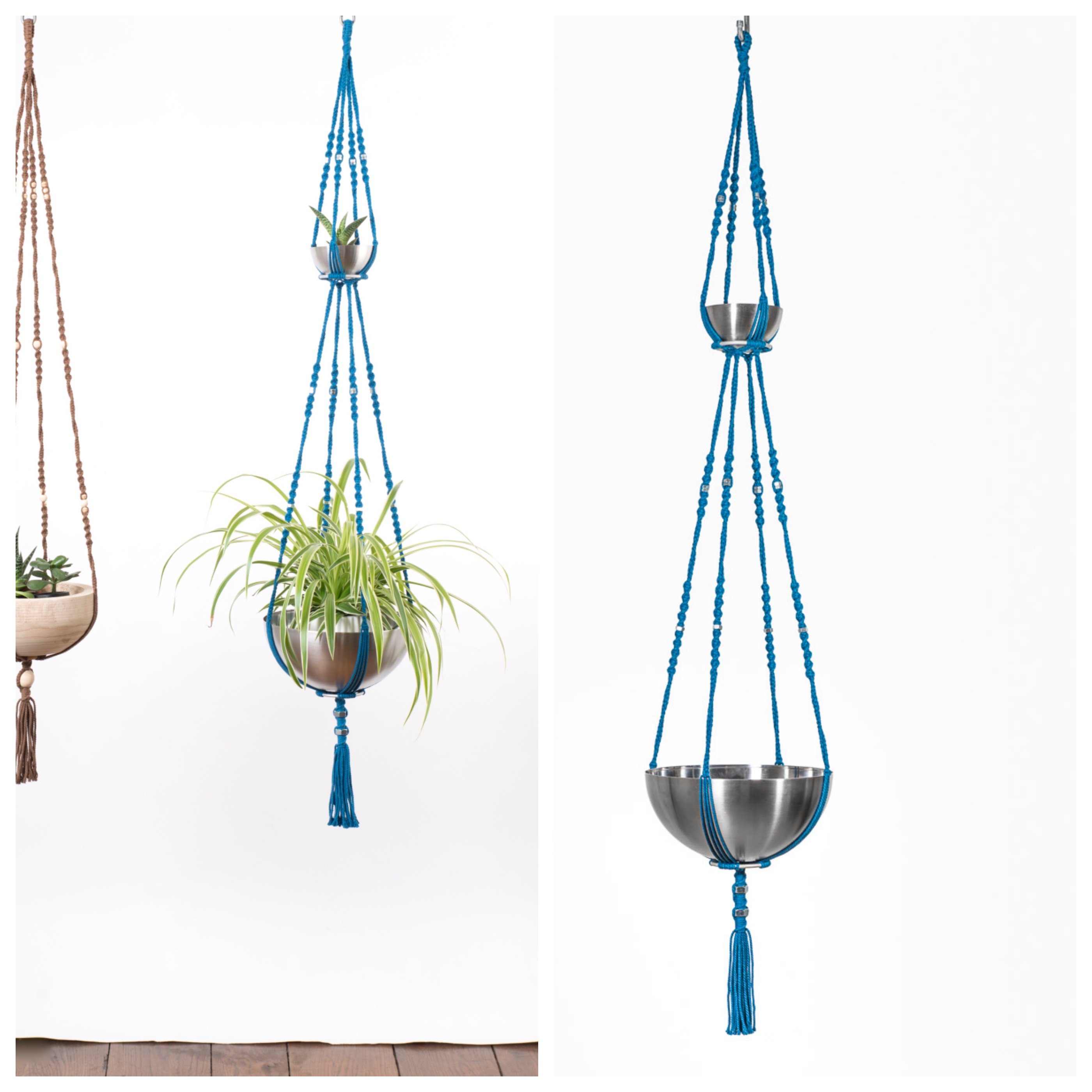 Suspension pour plantes macram bymadjo neptune d co for Suspension pour plante interieur