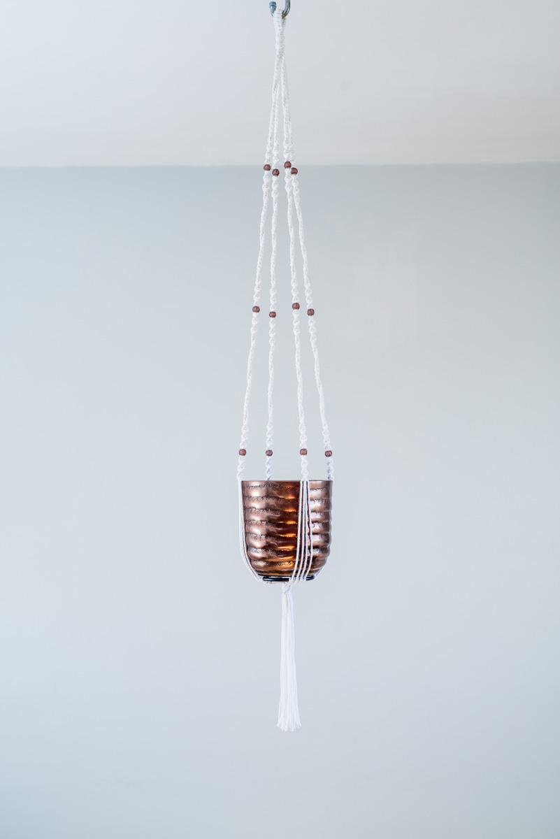 suspension macram plante bymadjo cobanos d co. Black Bedroom Furniture Sets. Home Design Ideas