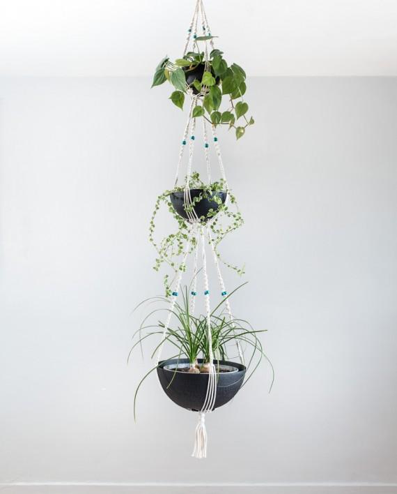 suspension pour plante interieur suspension pour plantes 2 tages bymadjo equinox d co. Black Bedroom Furniture Sets. Home Design Ideas