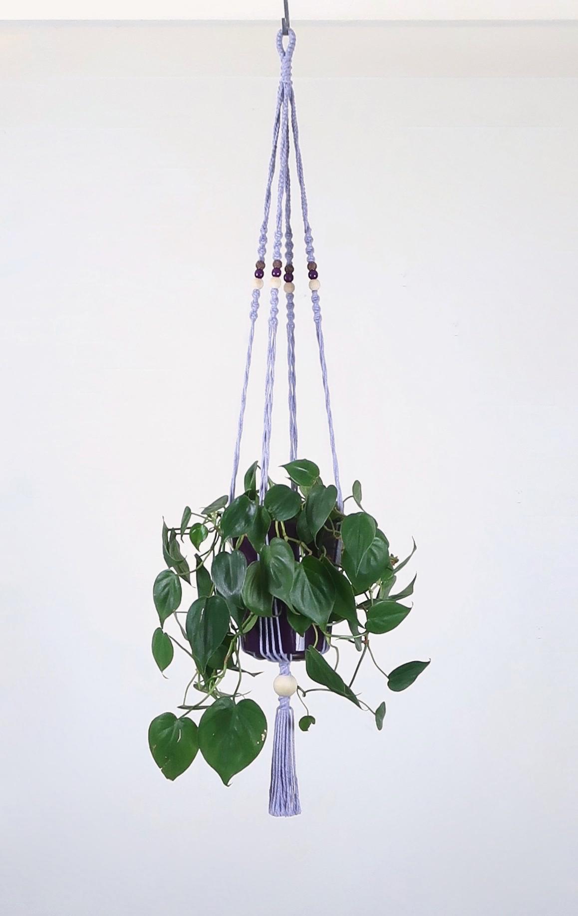 porte pot suspension macram bymadjo edmee d co. Black Bedroom Furniture Sets. Home Design Ideas