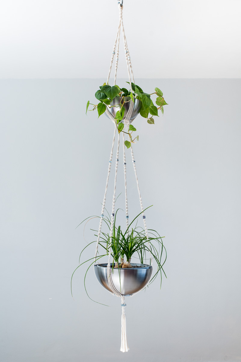 Plante suspendue int rieur fashion designs - Suspension pot de fleur macrame ...