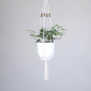 mini suspension en macramé