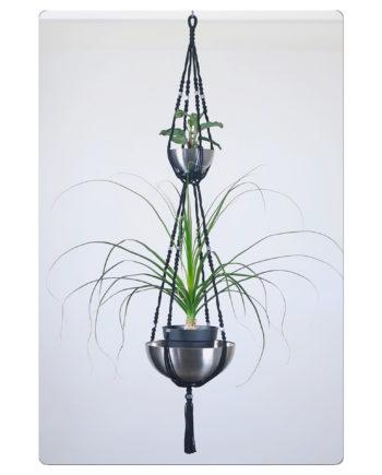 suspension pour plantes, 2 étages